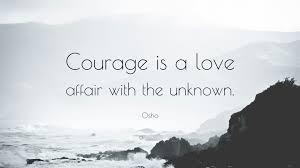 osho courage